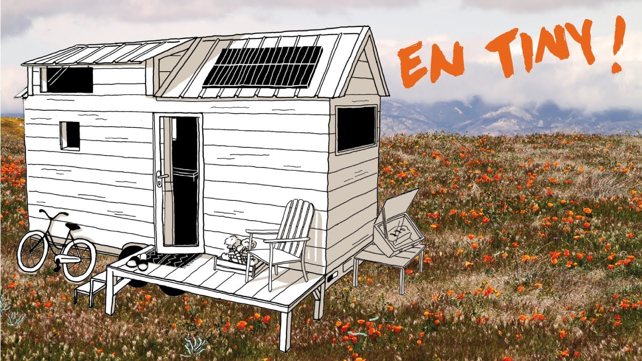 tiny house open source par l 39 association entropie en tiny entropie youtube. Black Bedroom Furniture Sets. Home Design Ideas