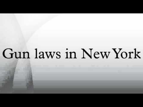 Gun laws in New York