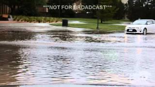 5-28-15 Lubbock,TX Texas Tech & Neighborhoods Flooding