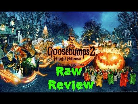 GOOSEBUMPS 2 HAUNTED HALLOWEEN MOVIE REVIEW RAW!