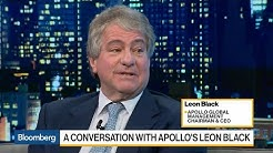 Apollo Global CEO Black Sees Possible Downturn After Next Election