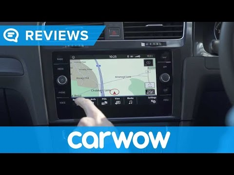 Volkswagen Golf 2017/ 2018 Discover Navigation System and interior review | Mat Watson Reviews