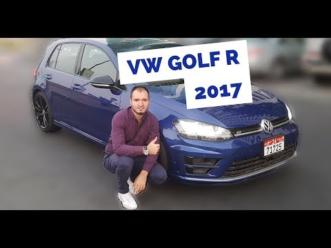 Driving Golf R 2017 || Abu Dhabi Test Drive Volkswagen Golf 7 R 2.0TSI 280HP