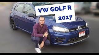 Driving Golf R 2017 || Abu Dhabi Test Drive Volkswagen Golf 7 R 2.0TSI 280hp