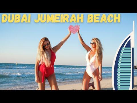 Dubai Jumeirah Beautiful Beach *HD*