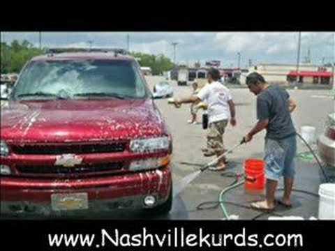 NKLO car wash ---- Nashville Kurds - YouTube
