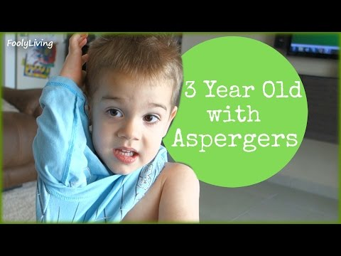 3 YEAR OLD WITH ASPERGERS (long repetitive speech loop)
