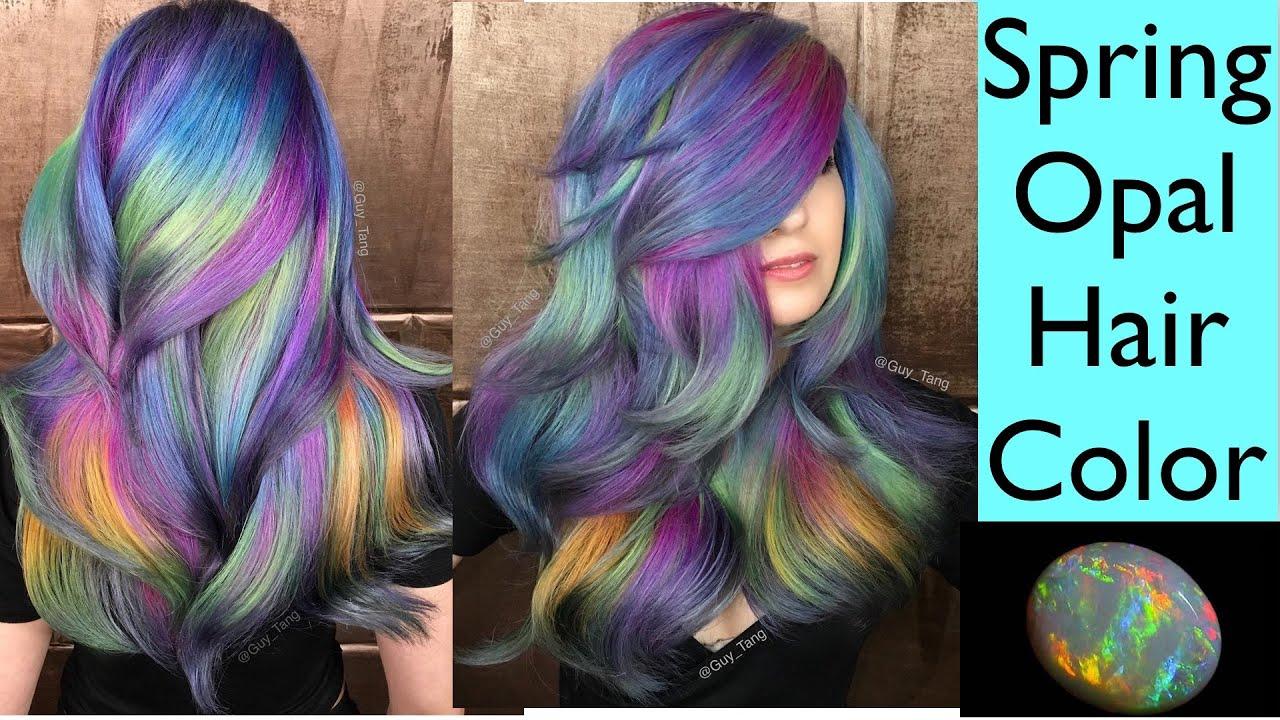 Spring Opal Hair Color