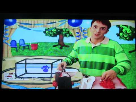 Blues Clues- Steve wants to play some musical chairs