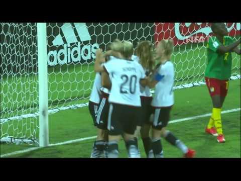 Match 20: Germany v Cameroon  FIFA U17 Women's World Cup 2016