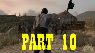 Red Dead Redemption Walkthrough Gameplay Part 10 - You Shall Not Give False Testimony