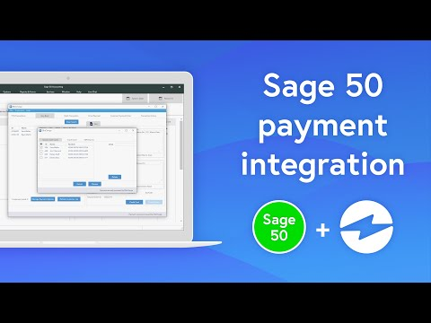 Accept Credit Card Payments in SAGE 50 | Payment Integration from YouTube · Duration:  1 minutes 20 seconds