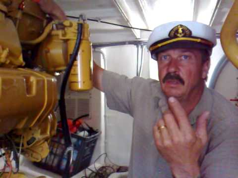 how to look after your 3208 caterpillar boat diesel engines