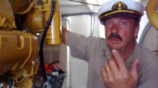 How to: Look after your 3208 Caterpillar boat diesel engines