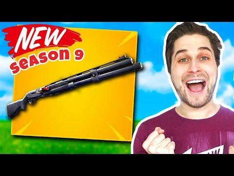Nieuwe Season 9 Shotgun Schiet Heerlijk! 😍💪🏽 - Fortnite Battle Royale