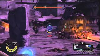 Warhammer 40,000: Space Marine - Sentry Guns Gameplay (PC)