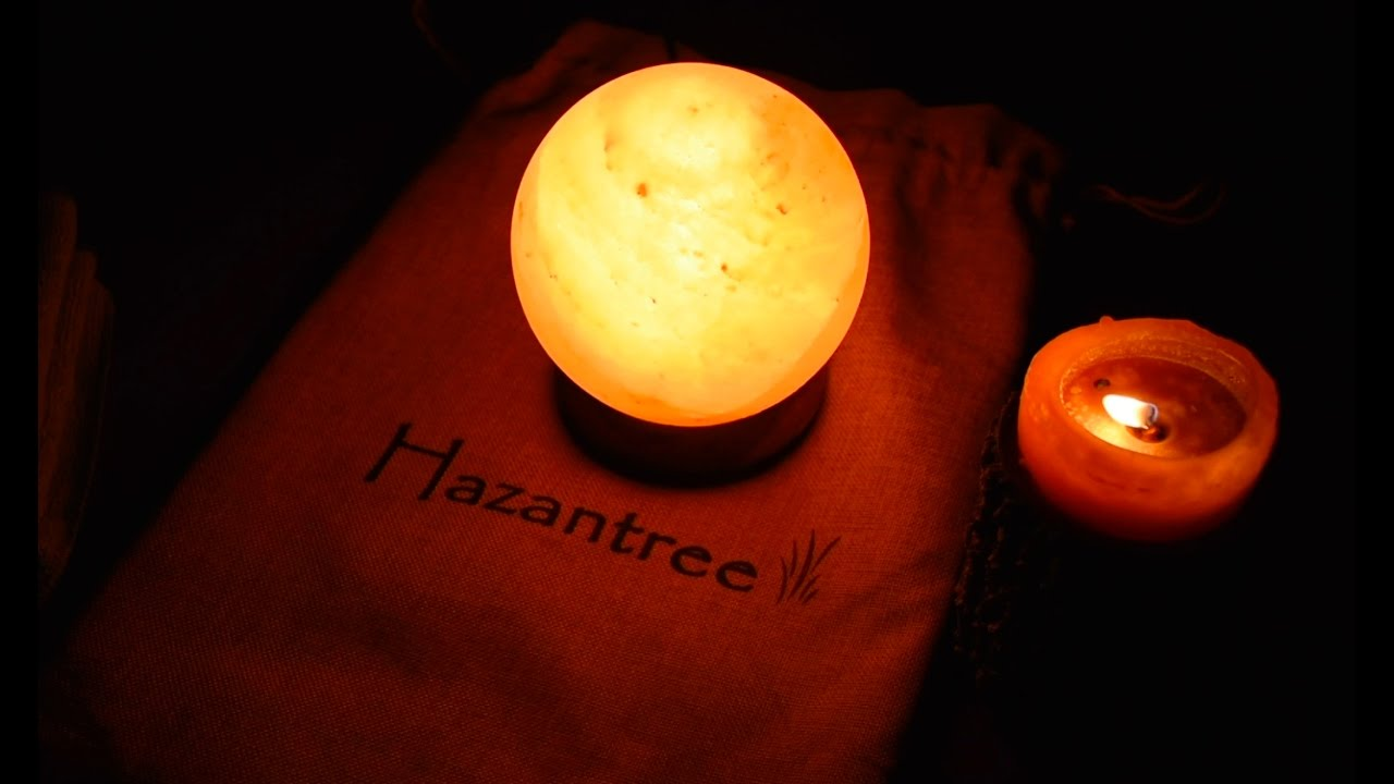 How to clean a Himalayan Salt Lamp - YouTube