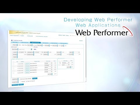 How To Develop Web Application With Web Performer