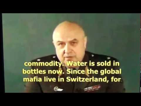 Message to Russia: Russian Major General Konstantin P. Petrov saw