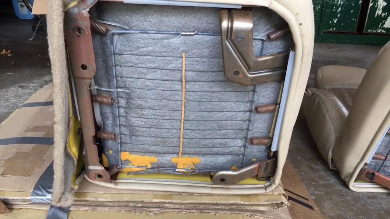Jeep Xj Seat Bracket Swap Youtube