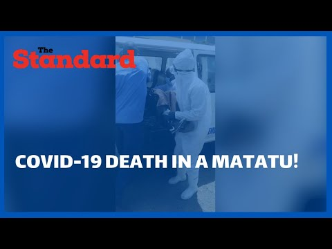Man mysteriously dies in a Nairobi matatu in what is suspected to be an unreported COVID-19 case