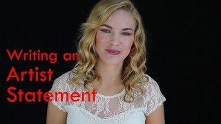 Artist Aid: Artist Statement in 5 minutes