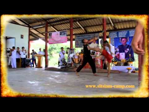 Royal Thai Army Sword fighting