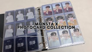 MONSTA X 몬스타엑스 kihyun トレカ紹介 ファイル紹介 KPOP my collection photoc…