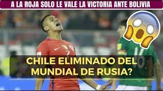 Bolivia Vs Chile ¿Cuál Será el Resultado Bolivia vs Chile  Eliminatorias Rusia 2018 EN VIVO
