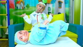 Рома как доктор мама как ребенок история про вредные сладости
