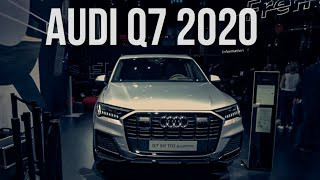 Первый тест AUDI Q7 2020