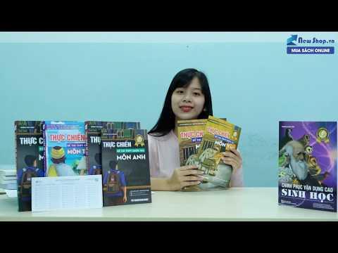 Review Sách Thực Chiến Đề Thi THPT Quốc Gia 2020 Môn Toán - Văn - Anh