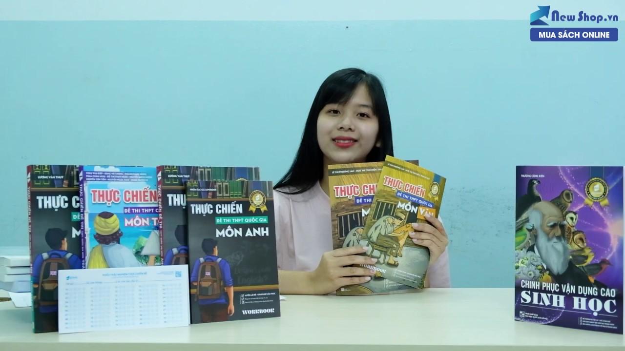 Review Sách Thực Chiến Đề Thi THPT Quốc Gia 2020 Môn Toán – Văn – Anh