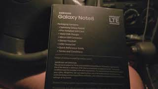 Bought Samsung Galaxy note 8