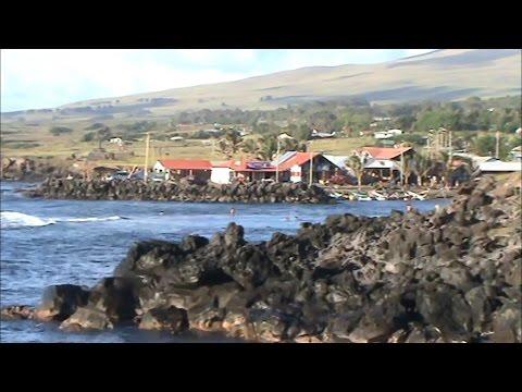 Easter Island - The tiny city of Hanga Roa
