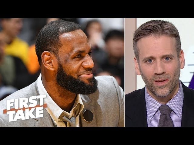 LeBron is more likely to leave the Lakers than win a title for L.A. - Max Kellerman | First Take