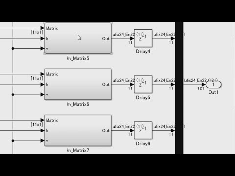 For Each Subsystems in HDL Coder - MATLAB and Simulink Video