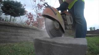 Download How to Cut Retaining Wall Blocks and Freestanding Wall Blocks Mp3 and Videos