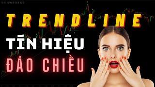 ✅ 6 Tín Hiệu Đảo Chiều Xu Hướng Mạnh Mẽ Từ TRENDLINE (Đường Xu Hướng) | TraderViet