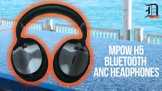 Active Noise Cancellation Under $100 - Mpow H5 Review