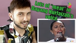 Cover images Vocal Coach YAZIK reacts to Dayang Nurfaizah - Di Pintu Syurga #AJL29