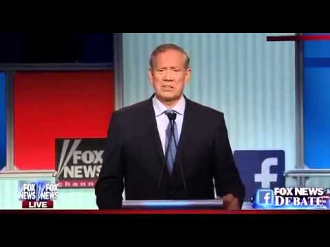 Full George Pataki Answers at Republican Presidential Debate (8-6-15)