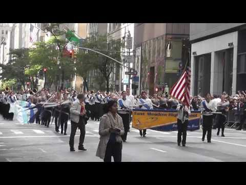 Columbus Day Parade NYC 2013 East Meadow...