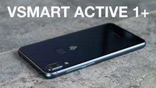 Mở hộp Vsmart Active 1+: màu xanh lục bảo nam tính, cứng cáp, Android 8.1
