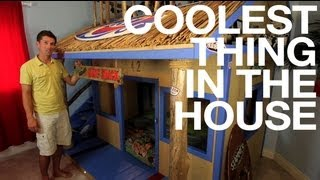 Ep19 (kids' Room) Surf Bunk Bed  - Coolest Thing In The House