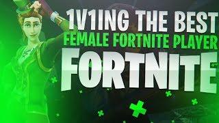 So I 1v1 The Worst Female On Fortnite....