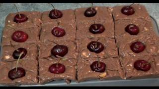 Chocolate Cherry Fudge - Christmas Recipe