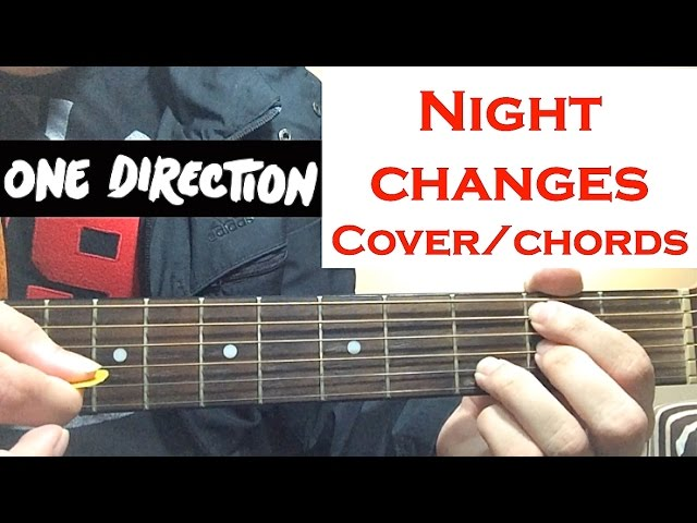 """One Direction """"Night Changes"""" Guitar Cover / Chords - YouTube"""