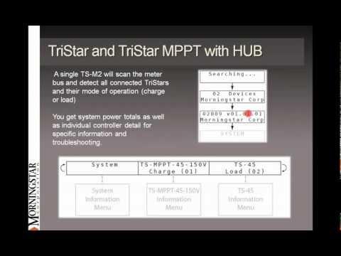 Morningstar TriStar MPPT Training