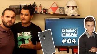 Celular do Minecraft, Menino Prodígio e Vita TV - Geek News #4
